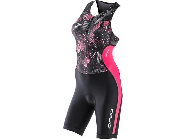 ORCA Core Traje de competición Mujer, black/pink